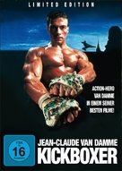 Kickboxer - German DVD cover (xs thumbnail)