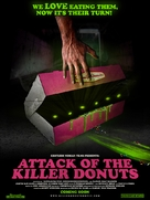 Attack of the Killer Donuts - Movie Poster (xs thumbnail)