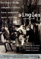 Singles - German Movie Poster (xs thumbnail)