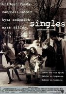 Singles - German Movie Poster (xs thumbnail)