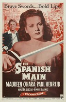 The Spanish Main - Movie Poster (xs thumbnail)