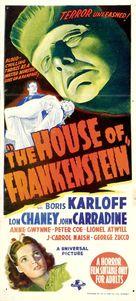 House of Frankenstein - Australian Theatrical poster (xs thumbnail)