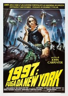 Escape From New York - Italian Theatrical poster (xs thumbnail)