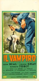 The Vampire - Italian Movie Poster (xs thumbnail)