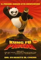 Kung Fu Panda - Italian Movie Poster (xs thumbnail)