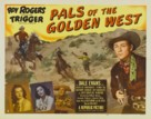 Pals of the Golden West - Movie Poster (xs thumbnail)