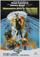 Diamonds Are Forever - Spanish Theatrical movie poster (xs thumbnail)