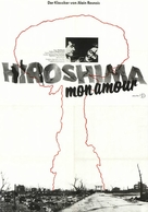 Hiroshima mon amour - German Movie Poster (xs thumbnail)