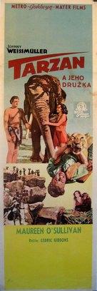 Tarzan and His Mate - Czech Movie Poster (xs thumbnail)