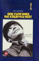 One Flew Over the Cuckoo's Nest - British VHS movie cover (xs thumbnail)
