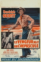 Decision at Sundown - Belgian Movie Poster (xs thumbnail)