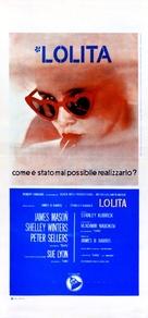 Lolita - Italian Movie Poster (xs thumbnail)