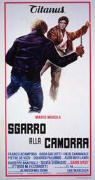 Sgarro alla camorra - Italian Movie Poster (xs thumbnail)