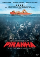 Piranha - Finnish DVD movie cover (xs thumbnail)