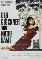 Notre-Dame de Paris - German Movie Poster (xs thumbnail)