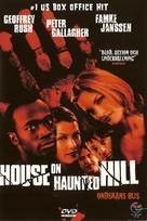 House On Haunted Hill - Swedish DVD movie cover (xs thumbnail)