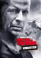 Live Free or Die Hard - DVD movie cover (xs thumbnail)
