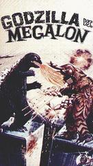 Gojira tai Megaro - VHS cover (xs thumbnail)