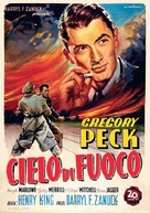 Twelve O'Clock High - Italian Movie Poster (xs thumbnail)