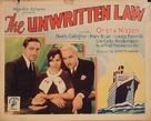 The Unwritten Law - Movie Poster (xs thumbnail)