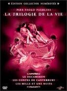 Il fiore delle mille e una notte - French DVD cover (xs thumbnail)