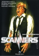 Scanners - German DVD movie cover (xs thumbnail)
