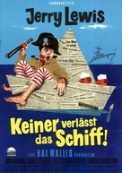 Don't Give Up the Ship - German Movie Poster (xs thumbnail)
