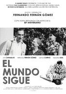 Mundo sigue, El - Spanish Movie Poster (xs thumbnail)