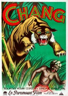 Chang: A Drama of the Wilderness - Swedish Movie Poster (xs thumbnail)