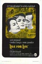 Vivre pour vivre - Movie Poster (xs thumbnail)