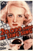 20,000 Years in Sing Sing - Spanish Movie Poster (xs thumbnail)