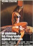 L'assassino ha riservato nove poltrone - Spanish Movie Poster (xs thumbnail)