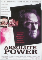 Absolute Power - German Movie Poster (xs thumbnail)