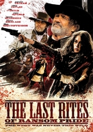 The Last Rites of Ransom Pride - Finnish DVD movie cover (xs thumbnail)