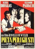 Detective Story - Italian Movie Poster (xs thumbnail)