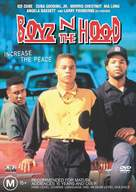 Boyz N The Hood - Australian DVD cover (xs thumbnail)