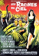 The Roots of Heaven - French Movie Poster (xs thumbnail)