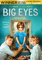 Big Eyes - DVD cover (xs thumbnail)