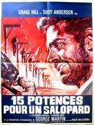Quindici forche per un assassino - French Movie Poster (xs thumbnail)