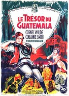Treasure of the Golden Condor - French Movie Poster (xs thumbnail)