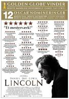 Lincoln - Danish Movie Poster (xs thumbnail)