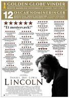 Lincoln - Danish Movie Poster (xs thumbnail)