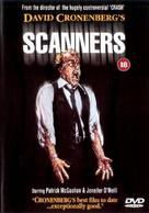 Scanners - British DVD movie cover (xs thumbnail)