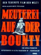 Mutiny on the Bounty - German Movie Poster (xs thumbnail)