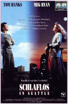 Sleepless In Seattle - German VHS movie cover (xs thumbnail)