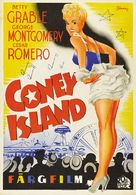 Coney Island - Swedish Movie Poster (xs thumbnail)