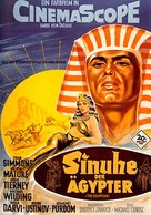 The Egyptian - German Movie Poster (xs thumbnail)
