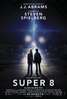 Super 8 - Brazilian Movie Poster (xs thumbnail)