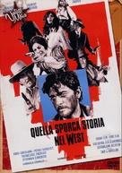 Quella sporca storia nel west - Italian DVD movie cover (xs thumbnail)