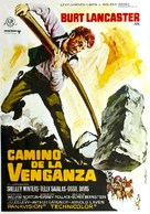 The Scalphunters - Spanish Movie Poster (xs thumbnail)